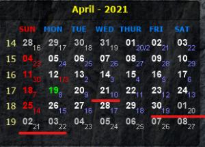 Thông báo nghỉ lễ Giỗ tổ Hùng Vương (10/3 âm lịch), dịp lễ (30/4) và Quốc tế lao động (1/5) năm 2021