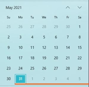 LỊCH CÔNG TÁC VÀ CHƯƠNG TRÌNH LÀM VIỆC CỦA LÃNH ĐẠO VIỆN  Từ  ngày 31/5/2021 đến ngày 06/6/2021